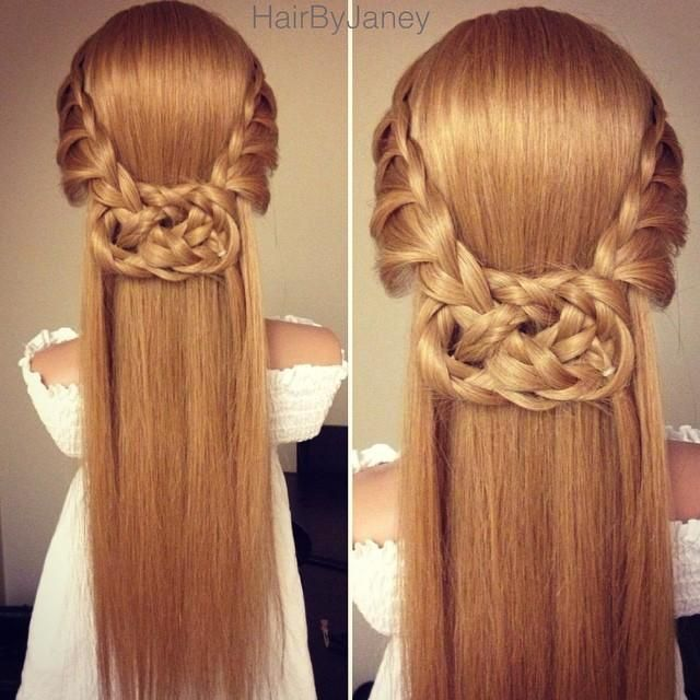 Wedding Hairstyle Knot Me Pretty: Irish Braids To Gain Celtic Wedding Hairstyle In 2019