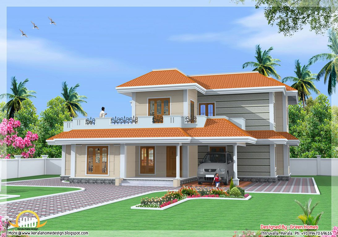 elevation indian colonial houses Google Search Kerala