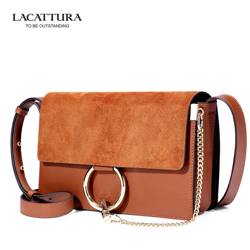 La Cattura Brand Original Quality Genuine Genuine Leather Lady Bags 2016  Brand Hot Sale New Fashion Bag Handbags Women Bags