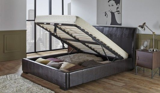 Amazing Georgia Bedstead 180Cm Ottoman Bed Brown Bed Frame Ncnpc Chair Design For Home Ncnpcorg