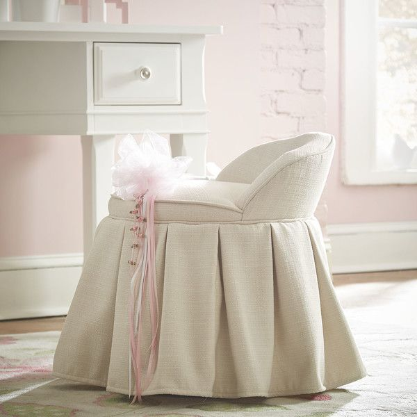Aristocrat Pettigrew Vanity Stool A Smartly Pleated Skirt And