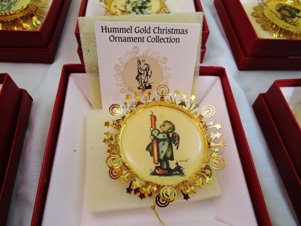 The Hummel Gold Christmas Ornament Collection 36 pieces LOOK! Read  Description #hummels #HummelCollection #hummelChristmasornaments #Christmas  ... - Details About The Danbury Mint Hummel Gold Christmas Ornament
