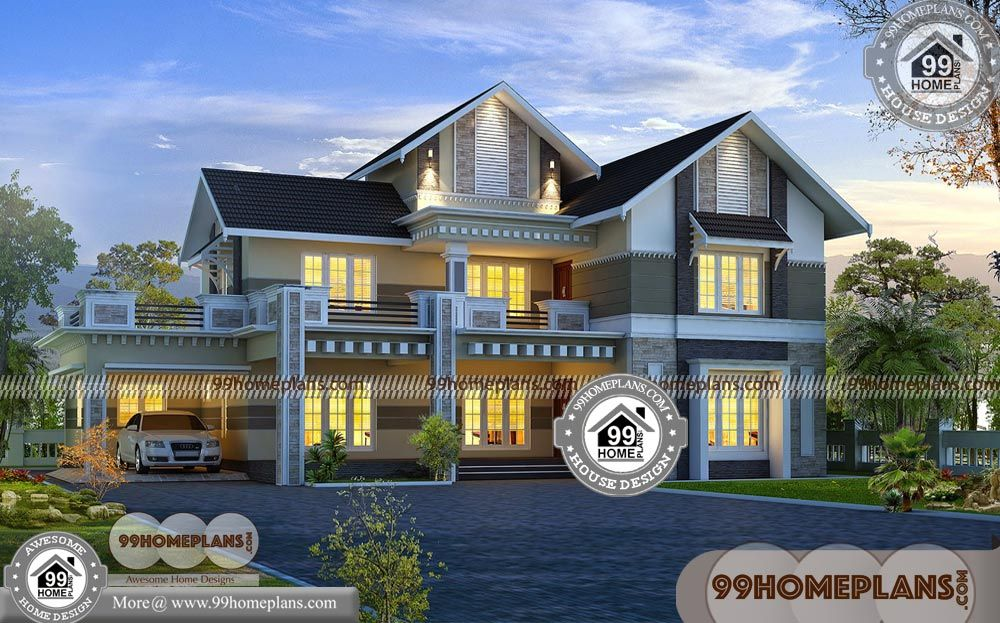 Indian Style Small House Ideas With 3d Elevations Double Floor Traditional Low Cost Modern Ho Modern House Plans House Design Pictures Interior Design Images