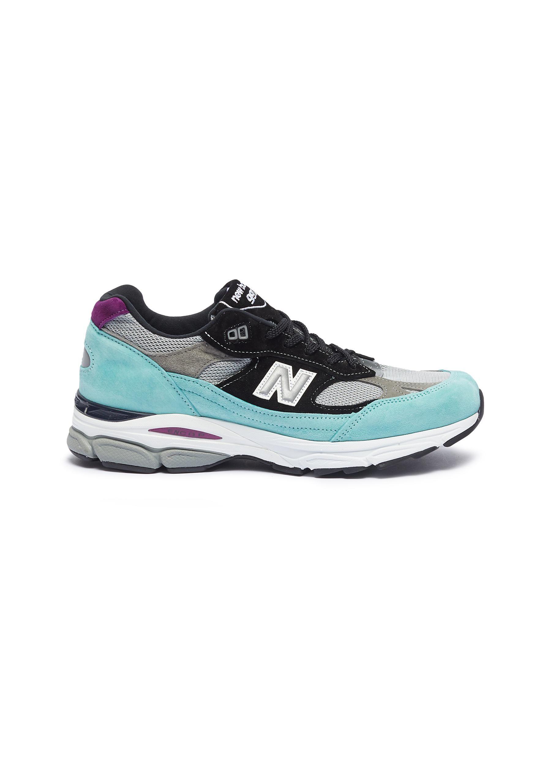 New Balance 'm9919' Colourblock Patchwork Sneakers ModeSens