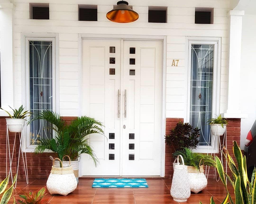 11 Model Pintu Rumah Minimalis 2 Pintu Terbaru 2020 Dekor Rumah Rumah Minimalis Rumah Home Fashion