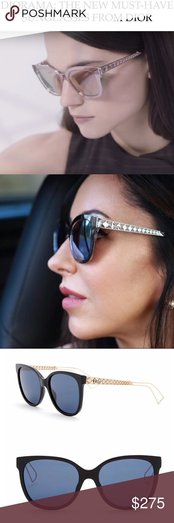 1778948fa6e NIB Christian Dior Diorama 3 Cat Eye Sunglasses Brand New and Sold Out. All  of