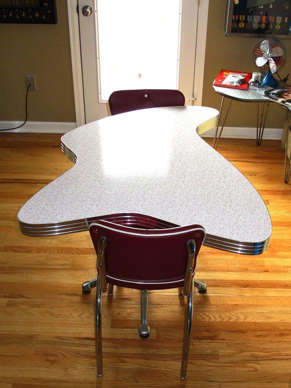50s Custom Retro Dining Table New Price Pinterest Tisch Küche