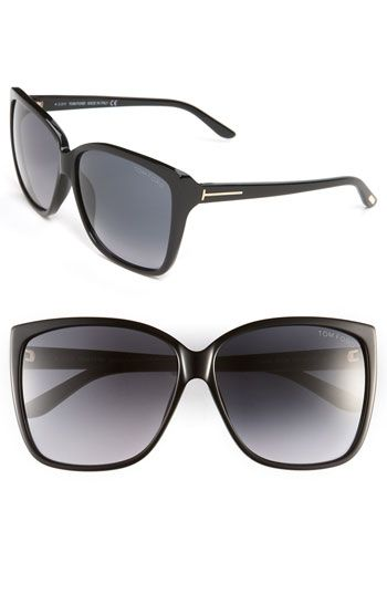 ed0fe5c4294 I need these this summer! Tom Ford Oversized Sunglasses available at ...