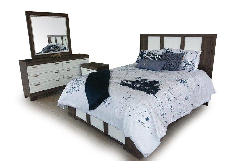 MOBILIER DE CHAMBRE 6 MCX - Chambre à coucher adulte - bundle