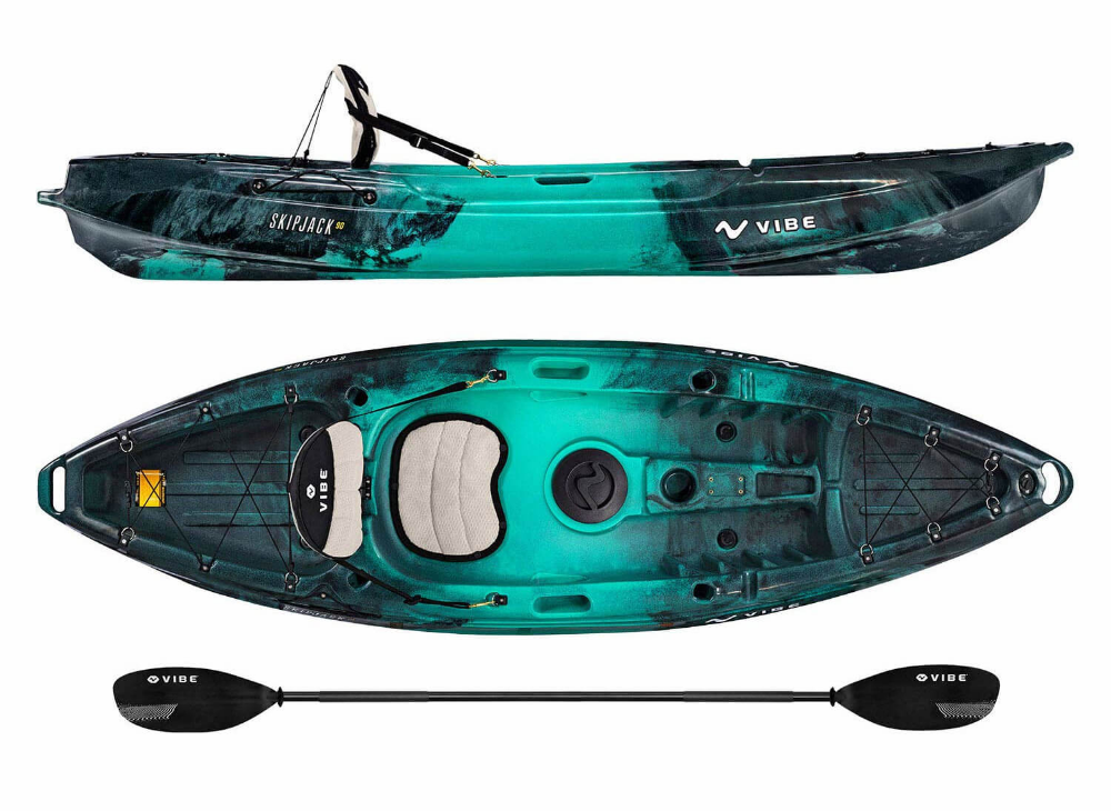 Vibe Skipjack 90 And 120t Fishing Kayak Reviewed Kayakguru Com Best Fishing Kayak Kayak Fishing Kayaking