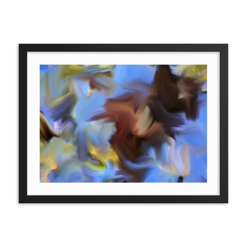 Spring Twigs Art Print - Enhanced Matte Print - White Border, Frame, 24×18 #twigart