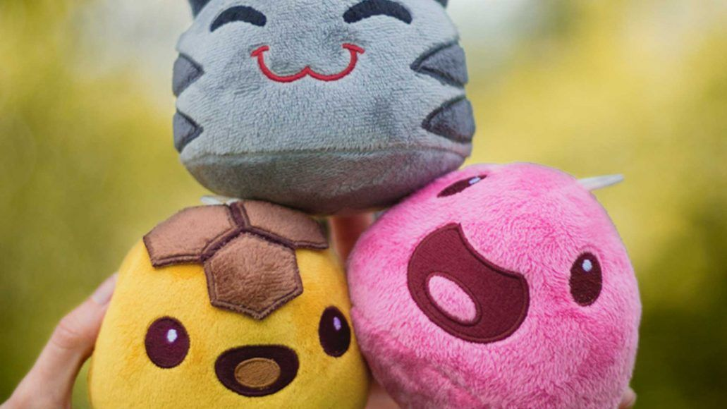 Popular Xbox One Game Gets Official Plushies Slime Rancher Slime Colorful Slime