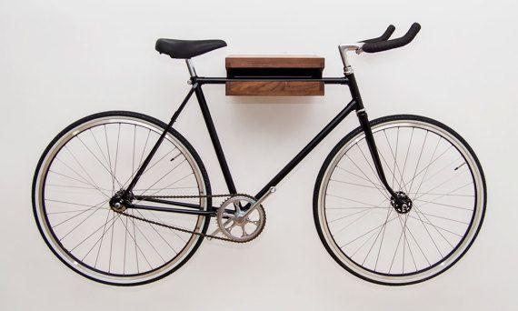 Bici De Madera Rack Bicicleta De Madera Nogal Por Worldofourcubes