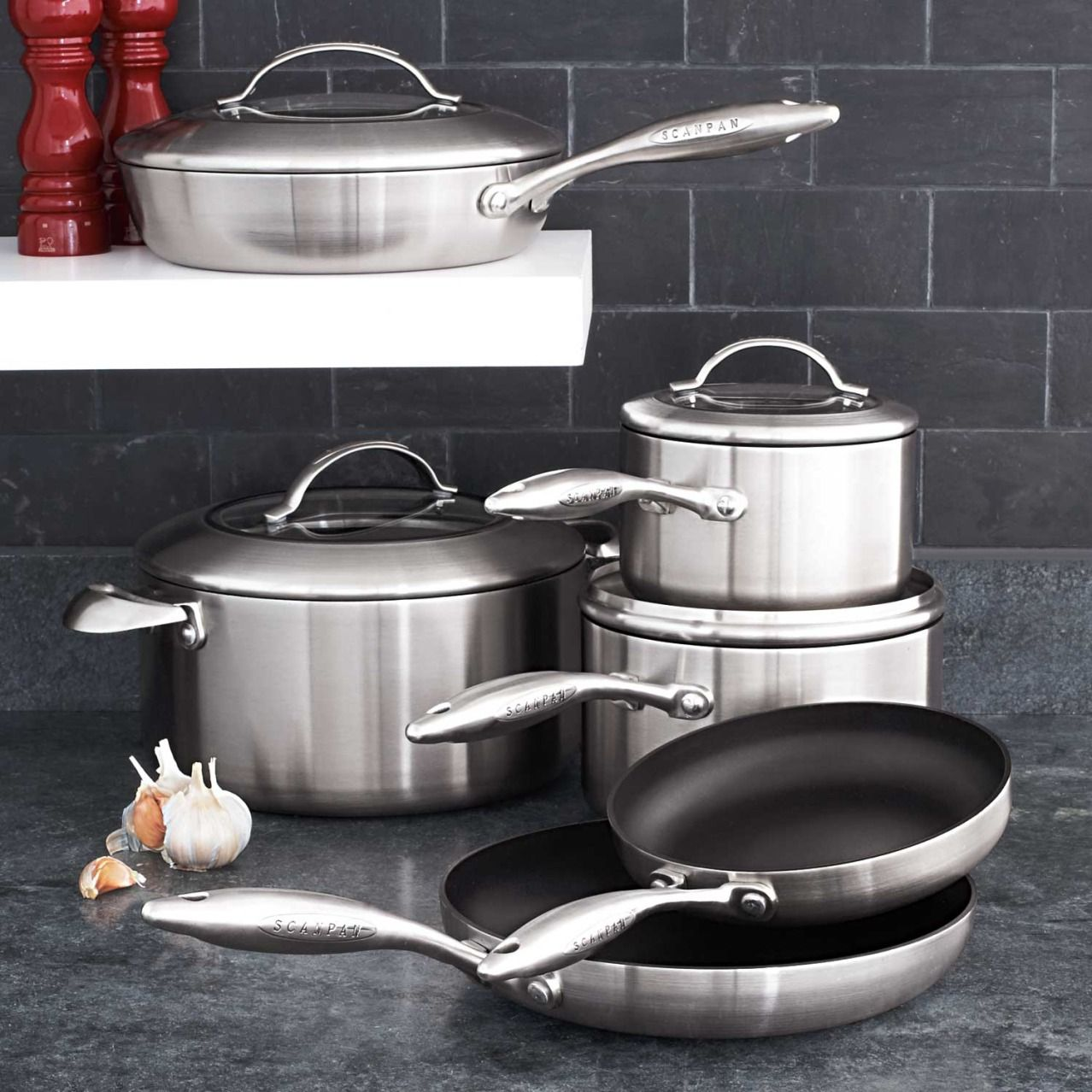 Scanpan CTX 10 Piece Nonstick Cookware Set at Sur La Table | For the ...
