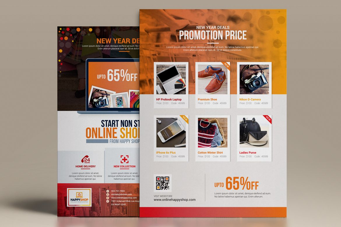 Product Promotional Business FlyerPoster