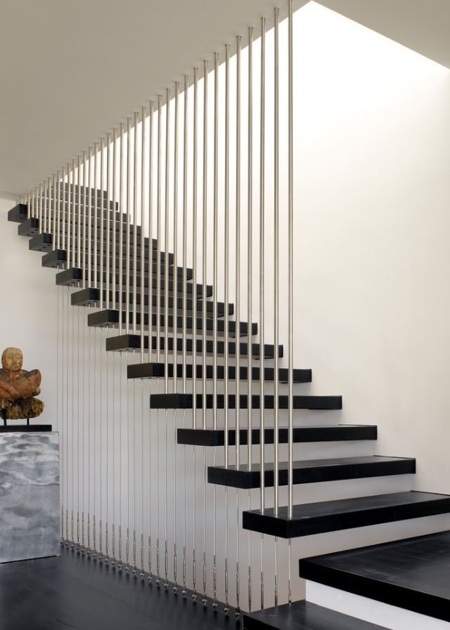Pin By Leticia Design On Stairs Stair Railing Design Modern