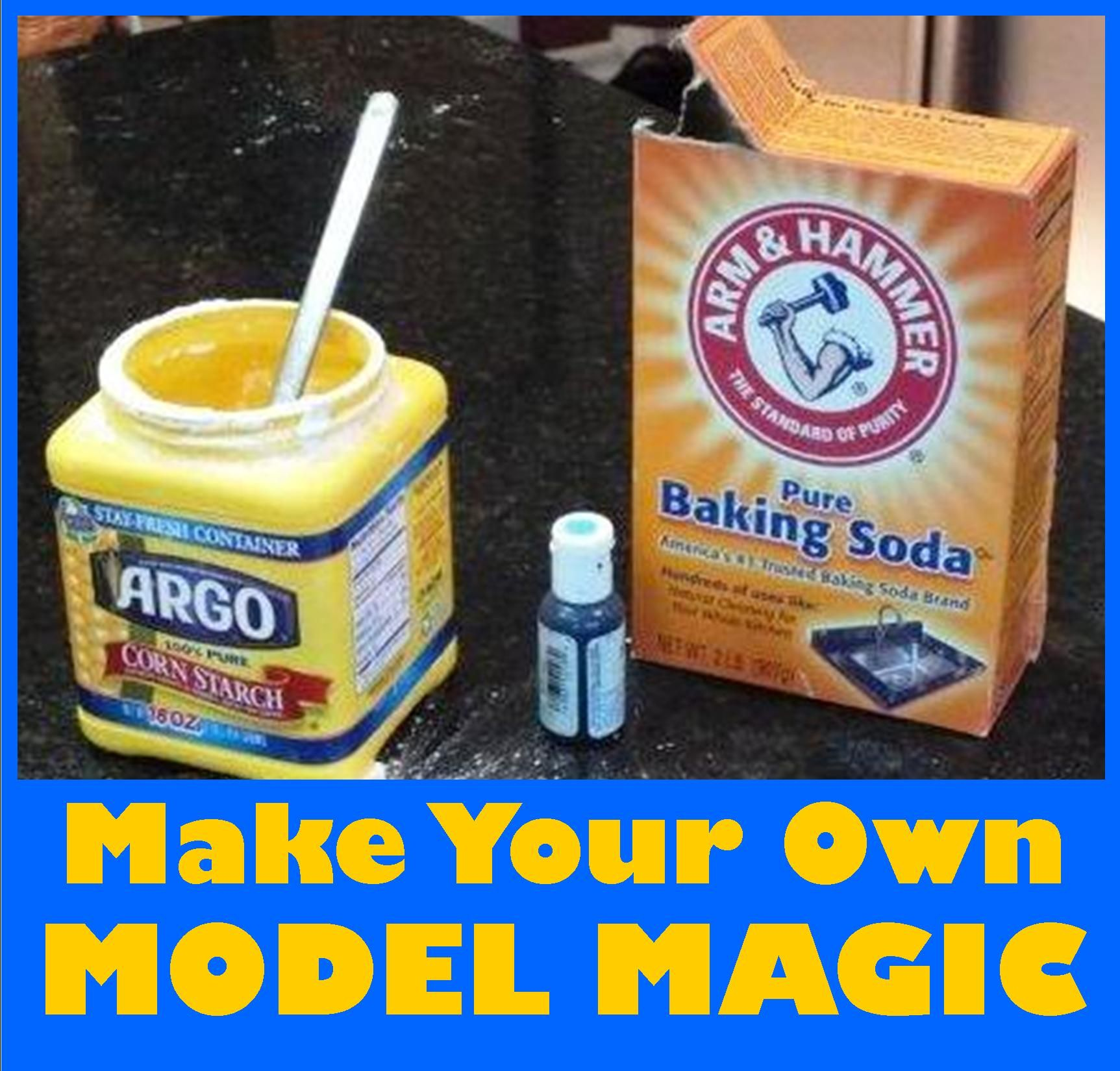 homemade model magic just takes a few ingredients that you probably already have at home your kids will love this project