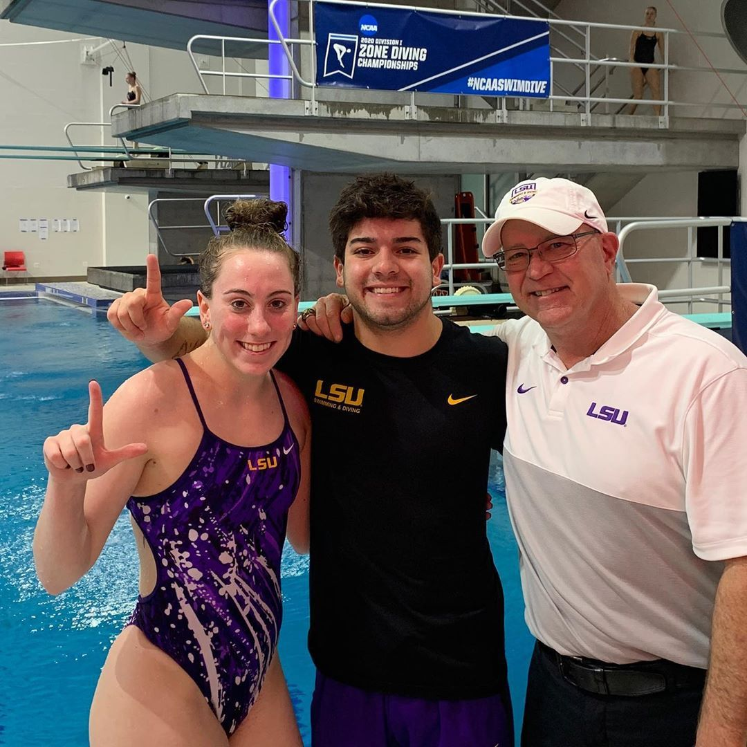 Lsu Swimming Diving On Instagram Aimee Wilson And Manny Vazquez Bas Qualify For Ncaa S On Day One In Dallas In 2020 Swimming Diving Lsu Swimming