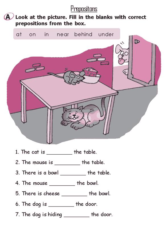 Grade 2 Grammar Lesson 16 Prepositions   Places to Visit ...