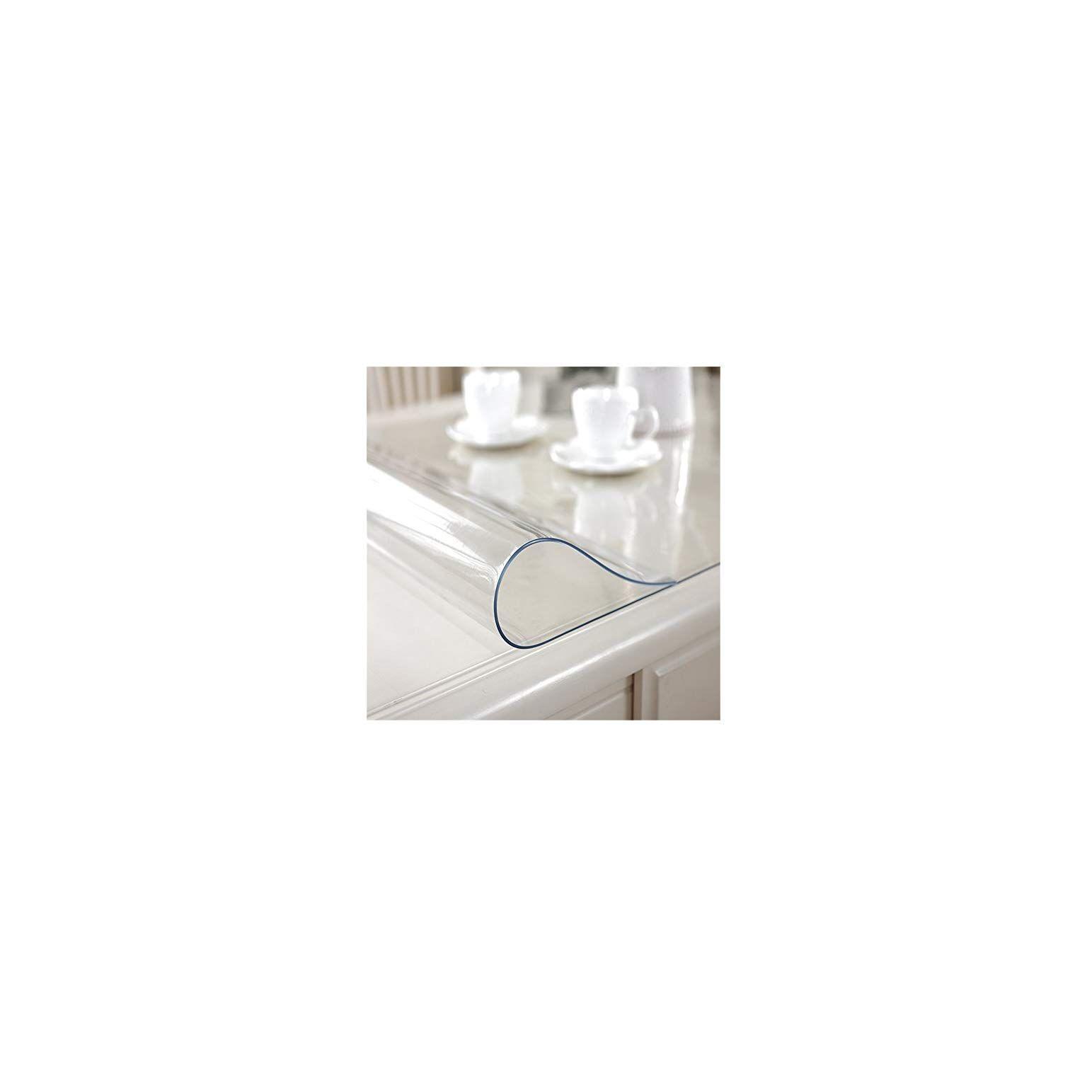 Ostepdecor Custom 72 X 27 6 Inch Clear Table Cover Protector 1 5