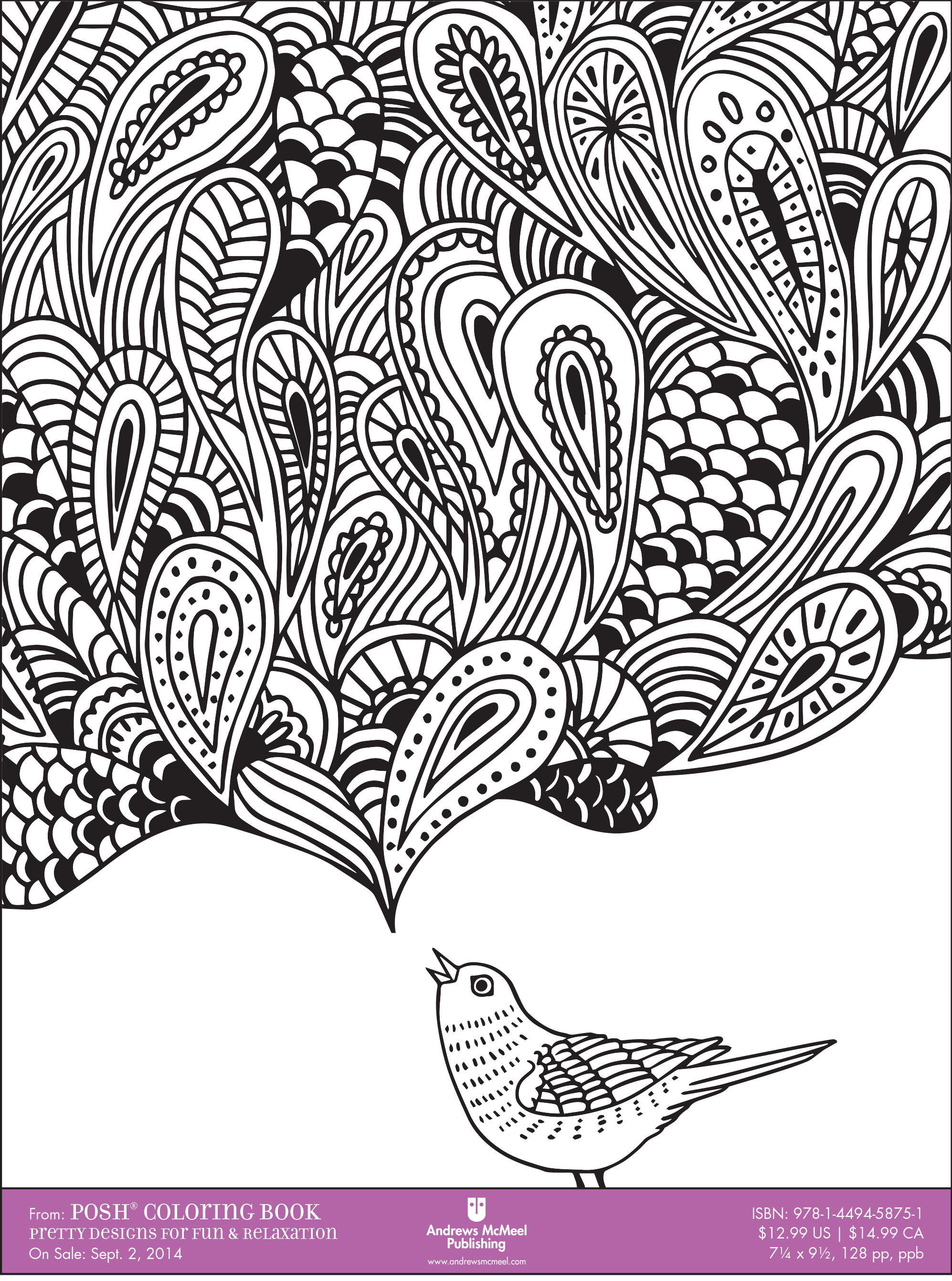 coloring books for adults downloadable sample pages are available here