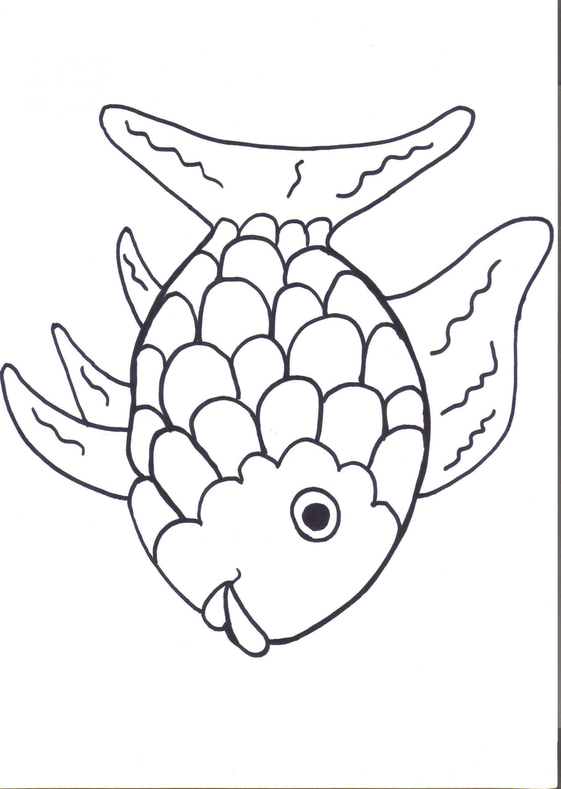 Rainbow Fish Printable Worksheets In