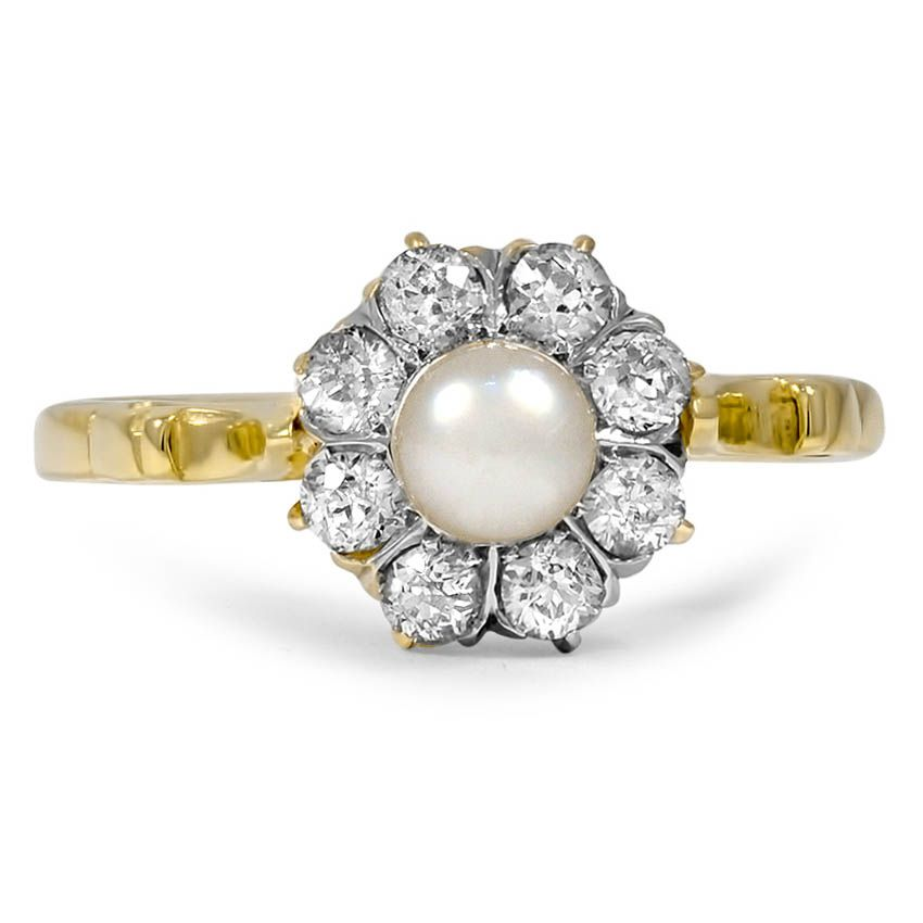 18K Yellow Gold The Dede Ring from Brilliant Earth