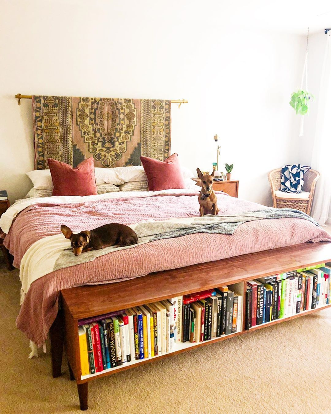 Bohemian Style Beds And Bedrooms Idee Deco Petite Chambre Deco
