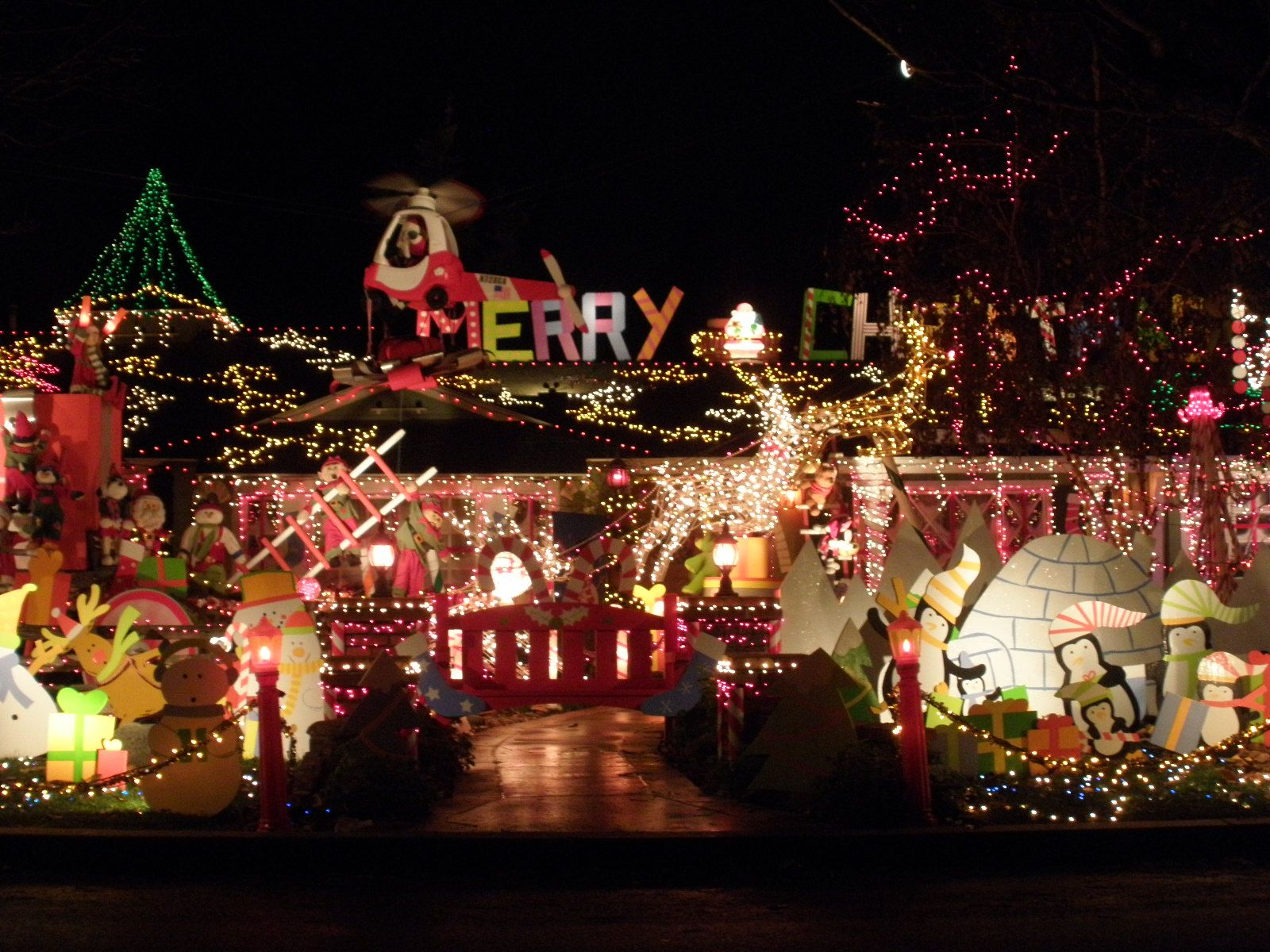 Christmas House Light Show 2013 [Best christmas outdoor ...