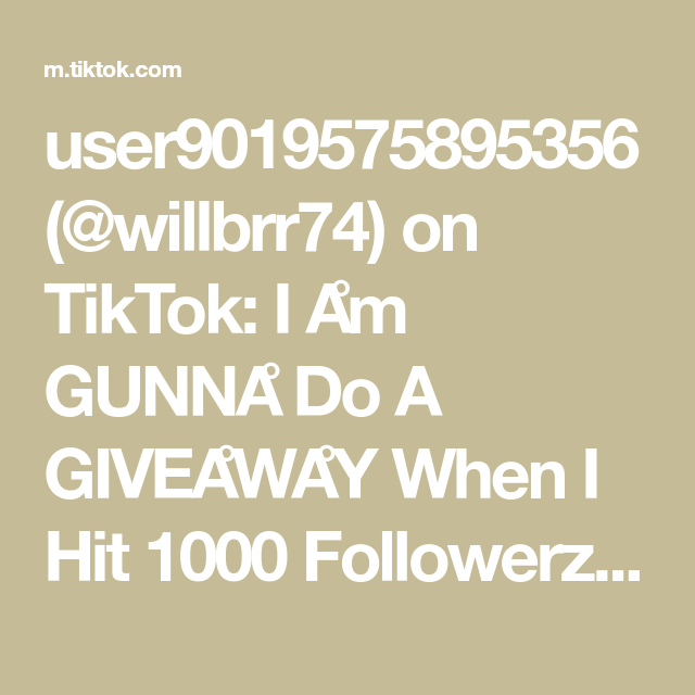 User9019575895356 Willbrr74 On Tiktok I Am Gunna Do A Giveaway When I Hit 1000 Followerz I Have A Mixer Pro Code To Giveawa Gamer Girl My Hit Hit