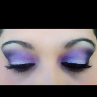 White, purple, pink, and black all Mac