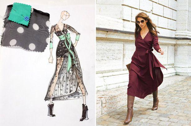Meg\'s Magazine Mash Up 2014: Wrap Dress Pattern Debut!   Dress ...