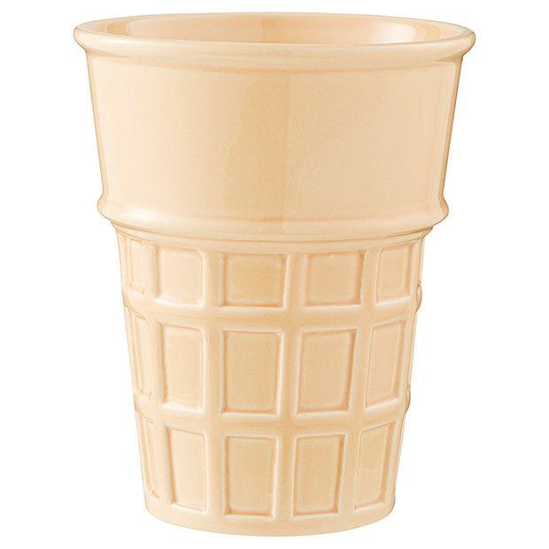 Ltd Ceramic Ice Cream Cone Planter Ceramic Ice Cream