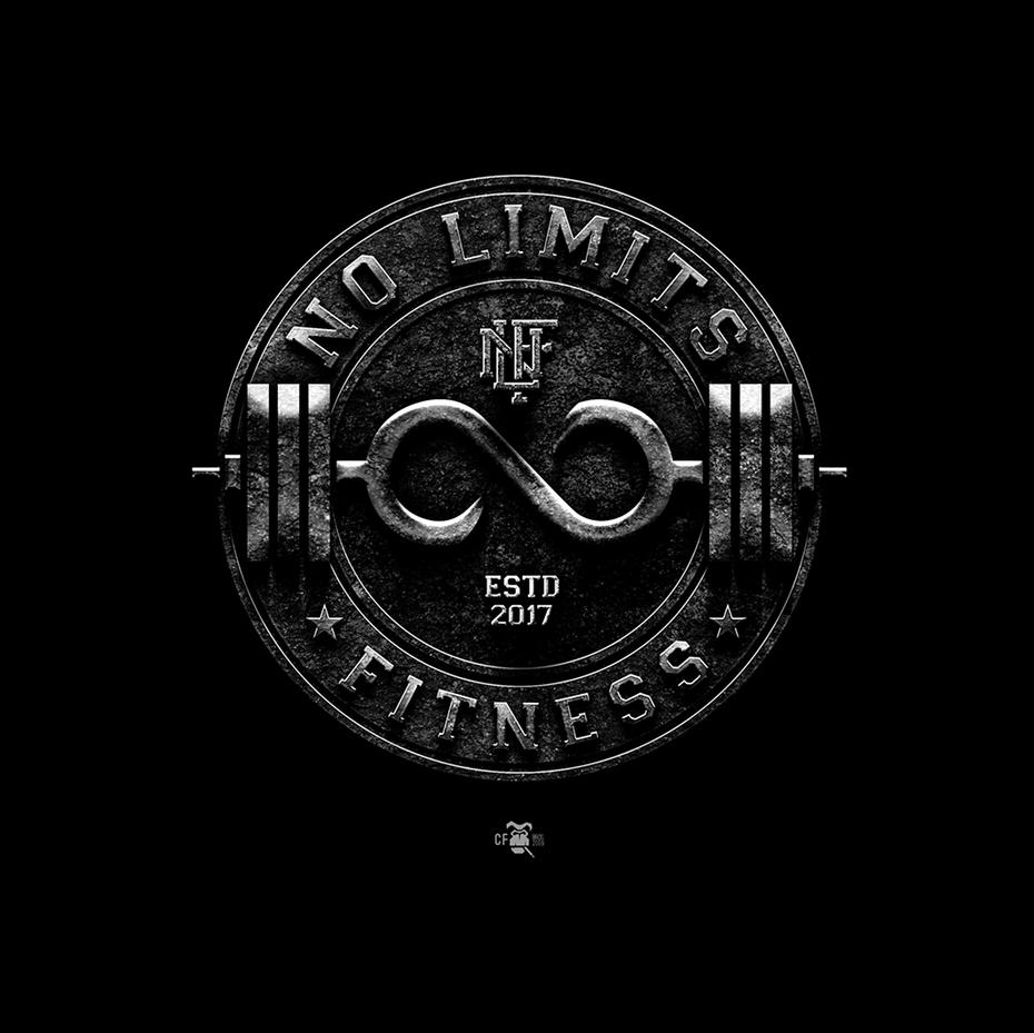 Image result for gym logo design   Fitness logo design ... No Limit Logo Google Images