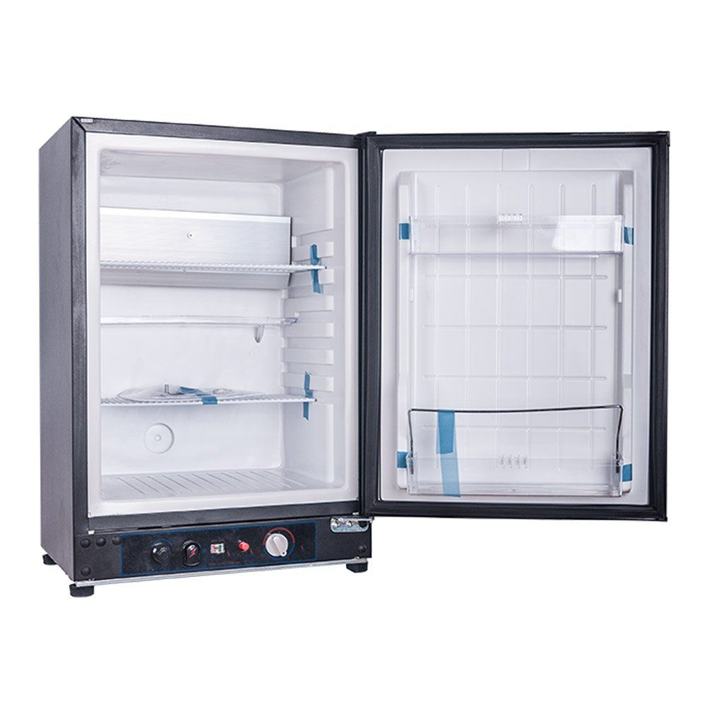 Smad 3way Absorption Fridge Rv Truck Refrigeratorac Dc Lpg55 Qtblack You Can Find Out More Details At The L Gas Refrigerators Rv Refrigerator Camper Fridge