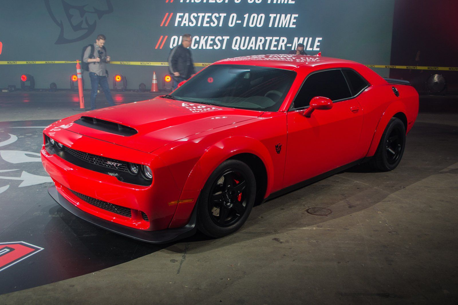 After about 10 000 teasers the wait is over and the 2018 dodge challenger srt demon is