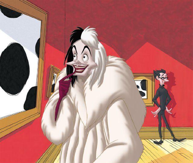 Cruella De Vil 101 Dalmatians Ii Patch S London Adventure