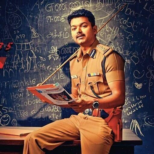 theri movie latest stills