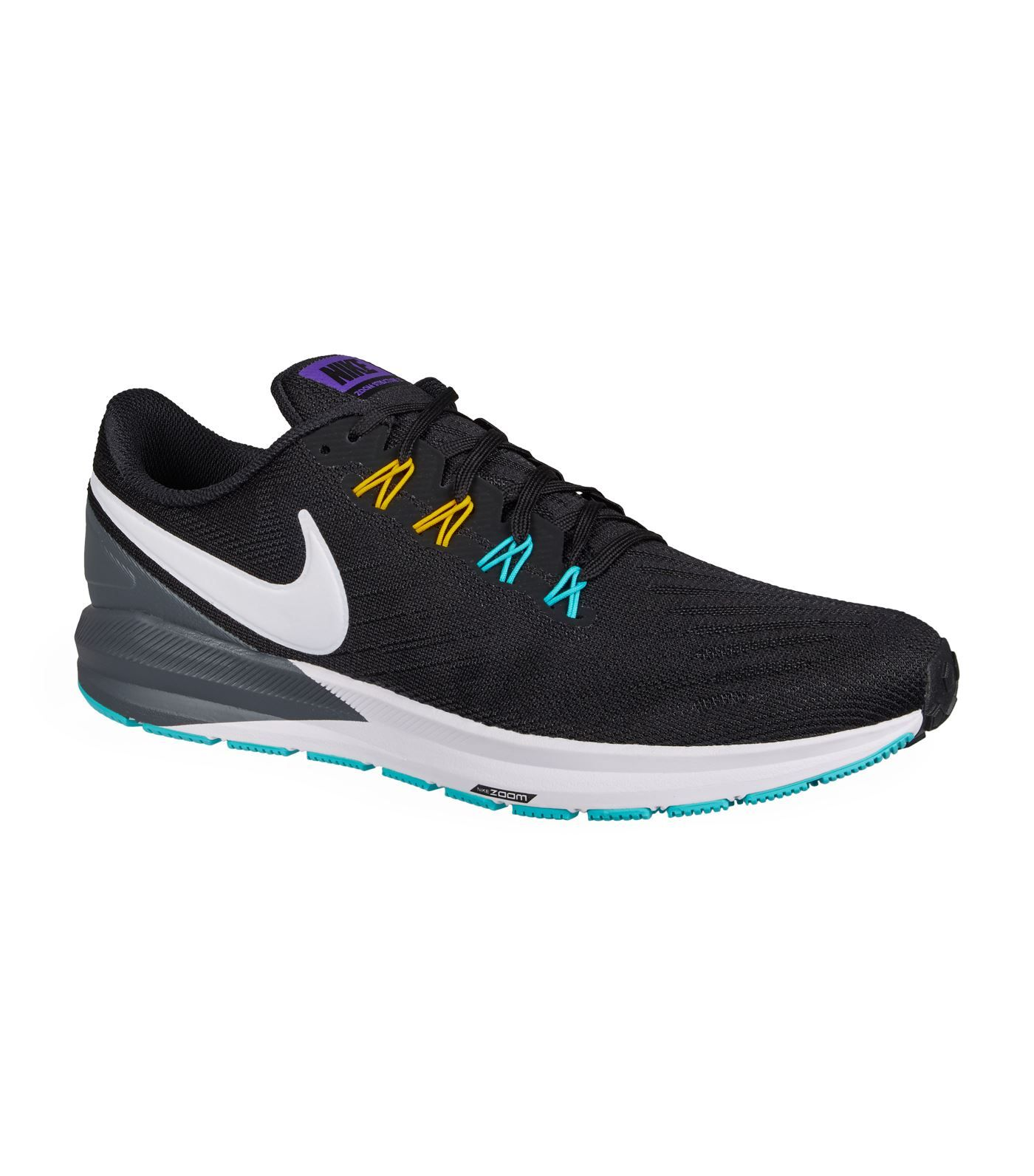 Nike Air Zoom Structure 22 Trainers In Black ModeSens