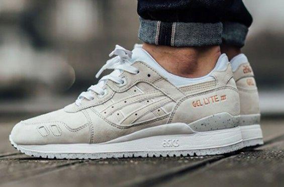On-Feet Images Of The Asics Gel Lyte 3 Slight White/Rose Gold ...