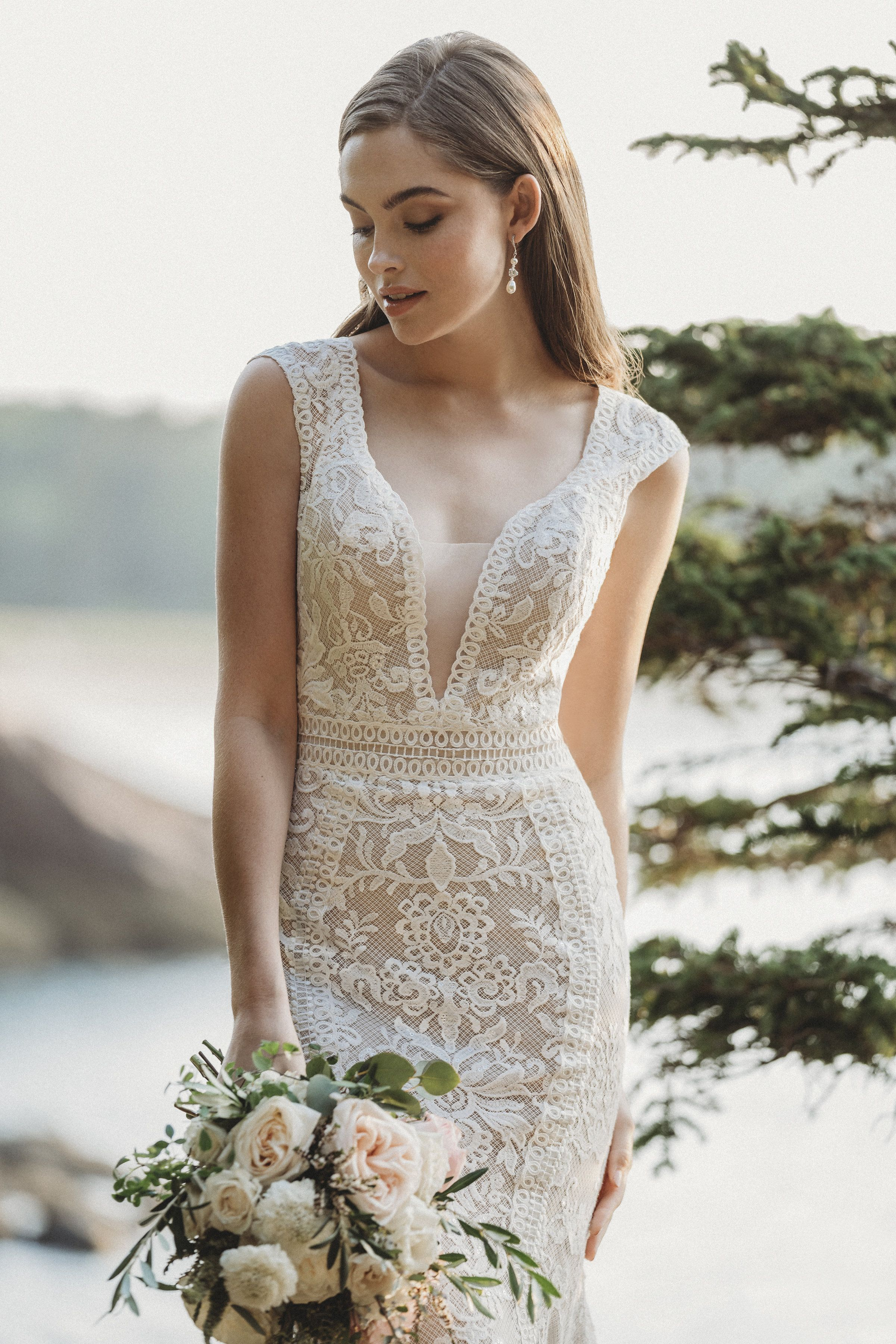 Allure Bridals available at Latter Day Bride & Prom.