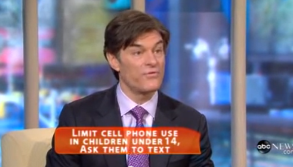 Dr  Oz on your phone health- an ounce of prevention is worth a pound