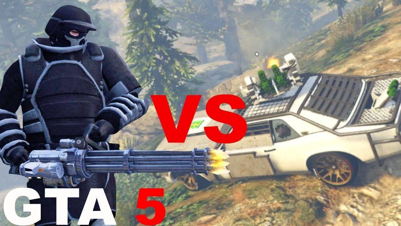 GTA 5 WEAPONIZED TAMPA VS BALLISTIC ARMOR EQUIPMENT