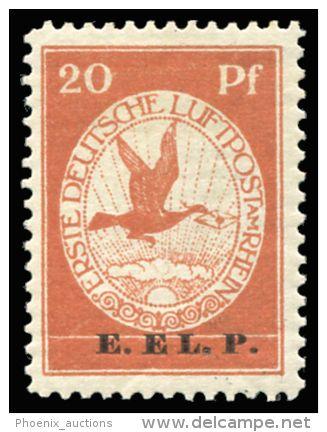 * 1912 Air Mail Rhine/Main special issue