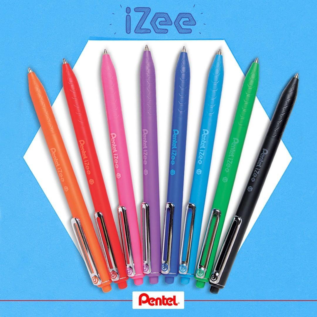Pentel 8 Farben-Set Dual Glitter-Gel-Tintenroller K110 Metallic Glitterstift