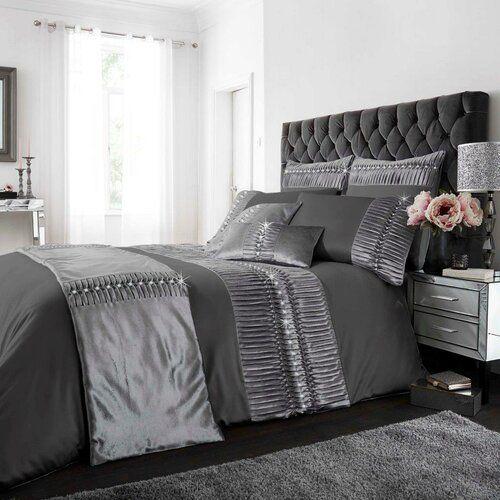Bedding Luxury New Cream Velvet Sparkle, Sparkle Bedding Set Single