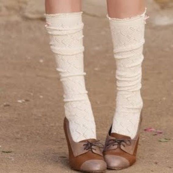 Vintage socks with Oxfords