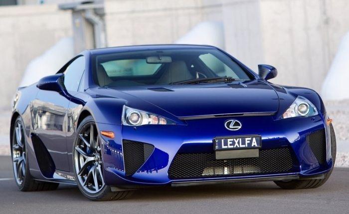 Marvelous Lexus LFA