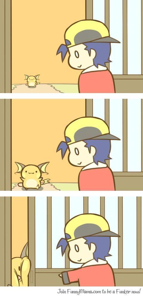 {Pokemon} Too slow Raichu