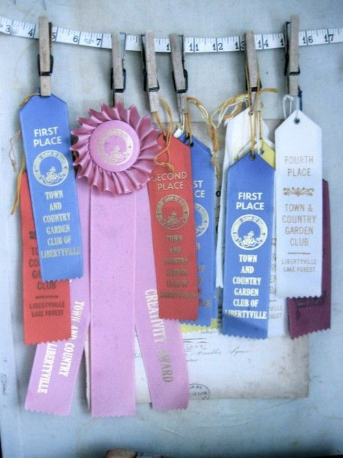 etsy ♥ county fair ribbons (@ anythinggoeshere)     not